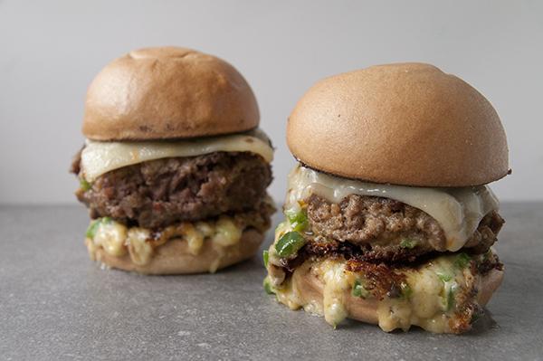 Jalapeno Popper Stuffed Burgers