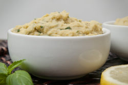 Lemon Pesto Hummus