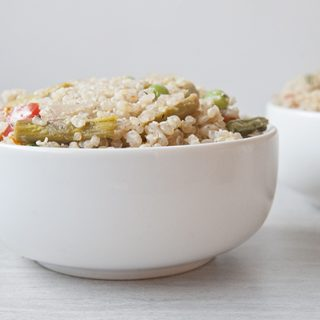 Spring Vegetable Quinoa
