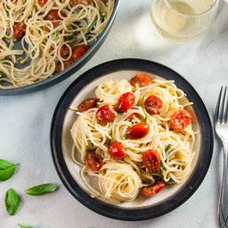 Quick and Easy Bruschetta Pasta