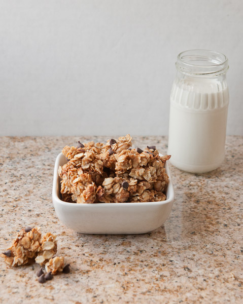 how to make chocolate granola cereal