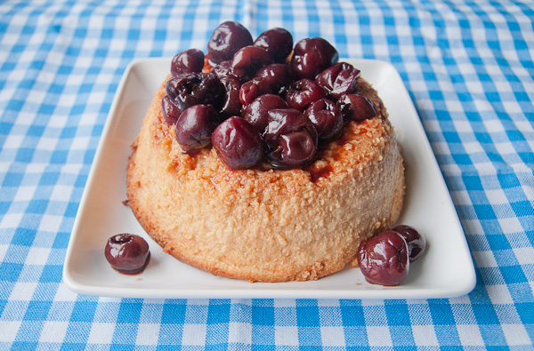 Baked Ricotta with Balsamic Cherries