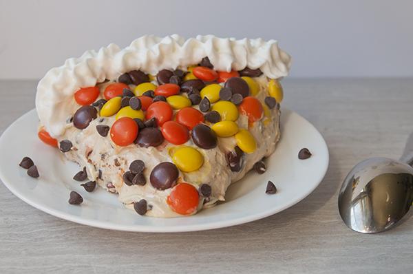 No Bake Loaded Peanut Butter Pie