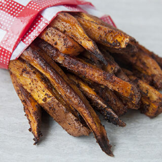 Easy Spicy Sweet Potato Fries