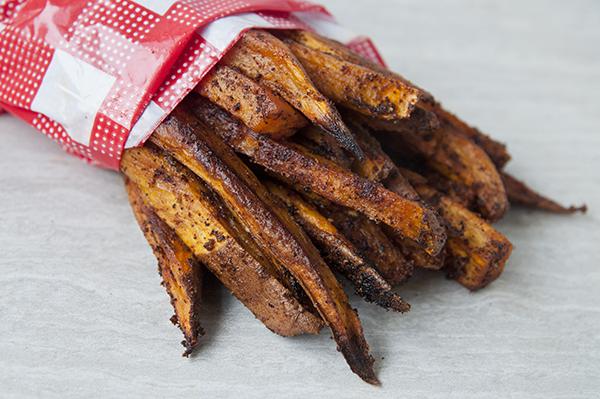 Easy Spicy Sweet Potato Fries