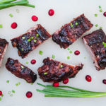 Cranberry Barbecue Ribs
