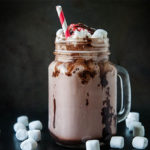 Frozen Hot Chocolate Floats