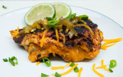Southwest Jalapeno Cheddar Stuffed Chicken