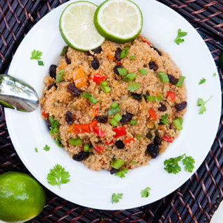 Thai Fried Quinoa