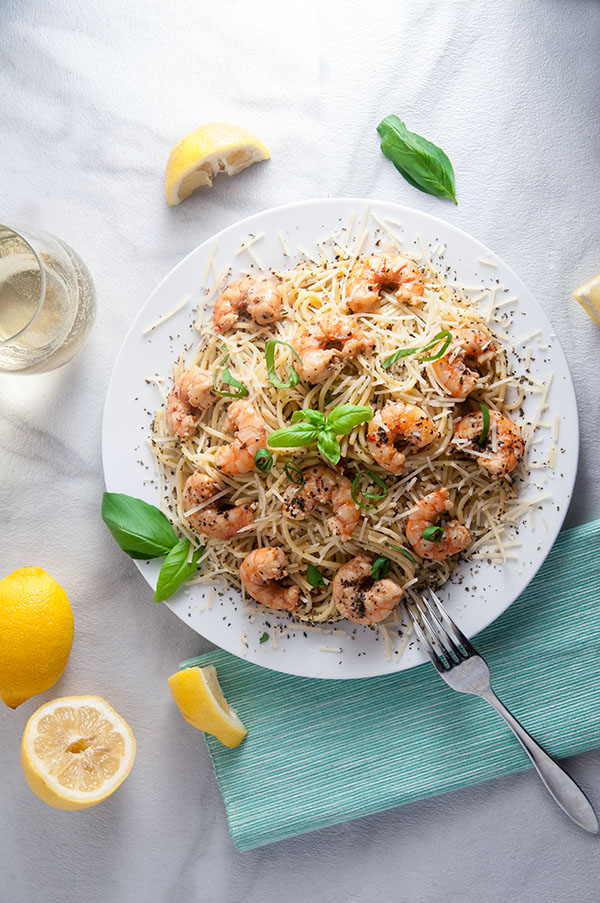 Chipolte Shrimp Scampi