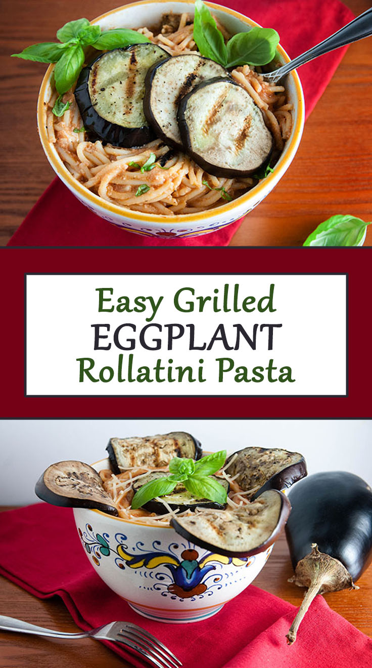 Easy Eggplant Rollatini
