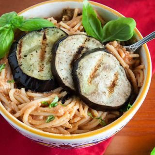 Easy Grilled Eggplant Rollatini Pasta