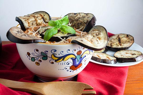 Easy Eggplant Rollatini Pasta