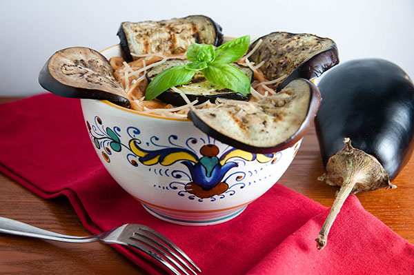 Easy Grilled Eggplant Rollatini