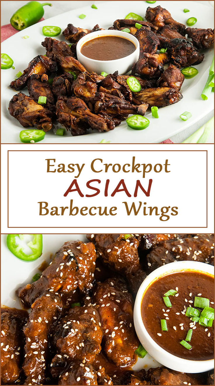 Crockpot Asian Barbecue Wings