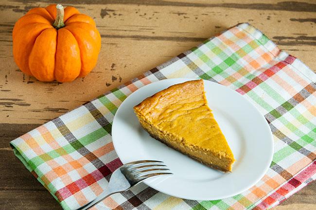Italian Style Pumpkin Cheesecake