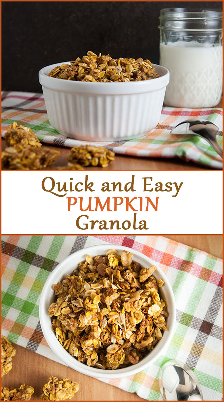 Quick and Easy Pumpkin Granola
