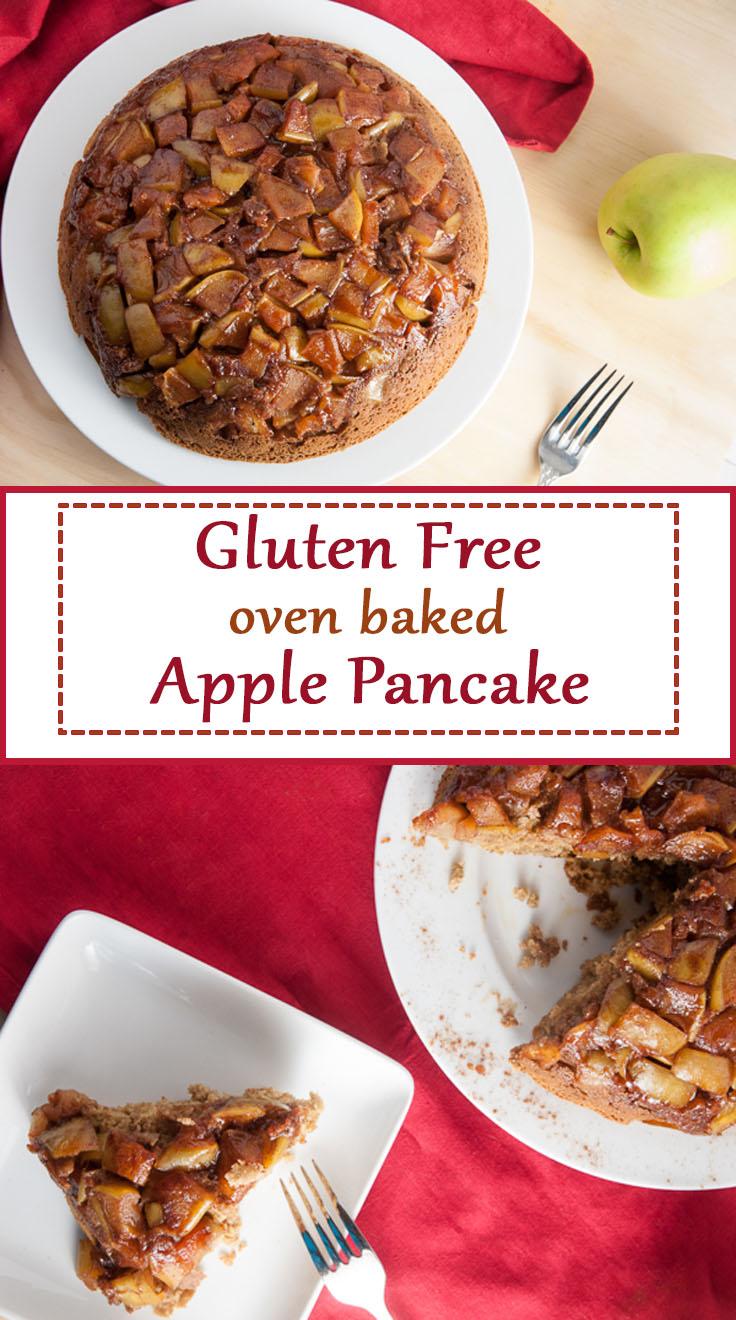 Gluten Free Oven Baked Apple Pancake