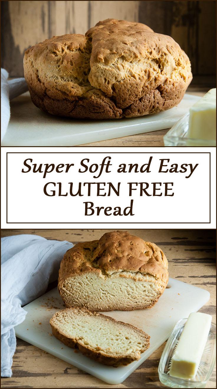 Super Soft and Easy Gluten Free Bread