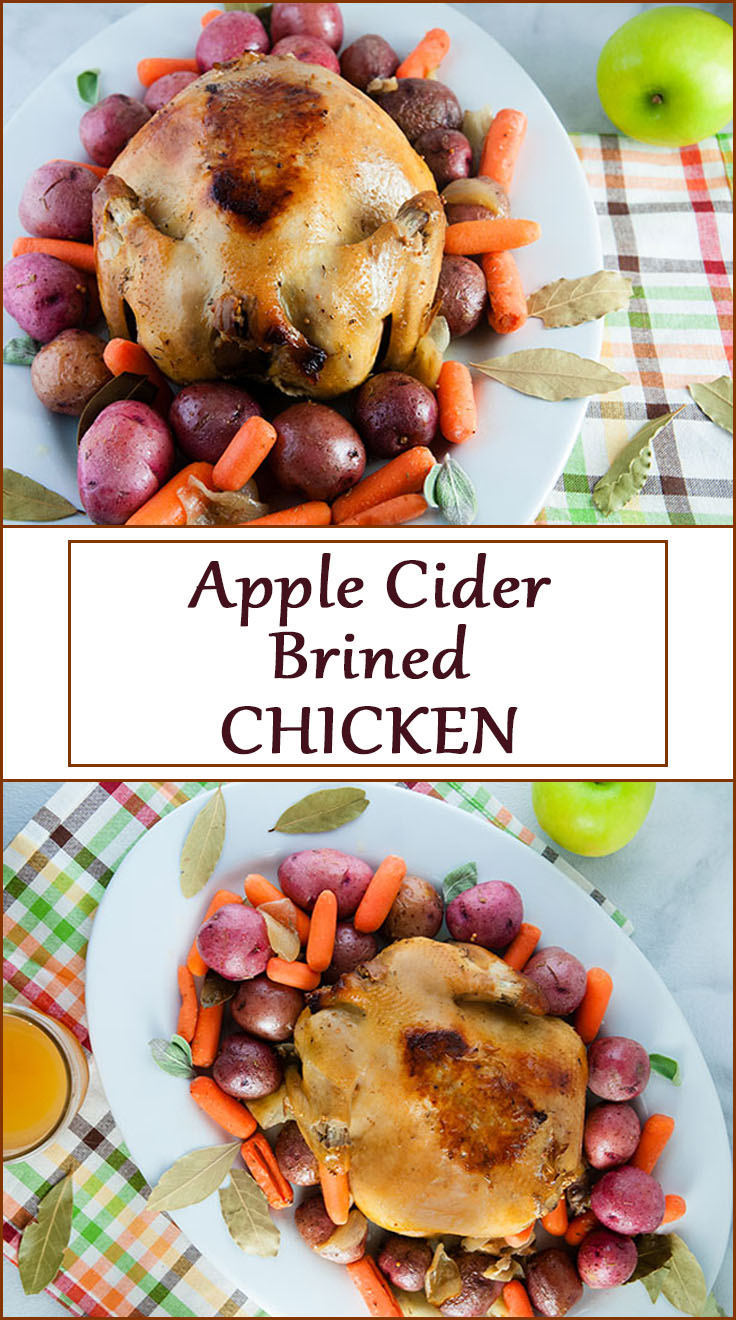Apple Cider Brined Chicken. Follow this brining technique to make the perfectly brined, moist Thanksgiving Turkey.