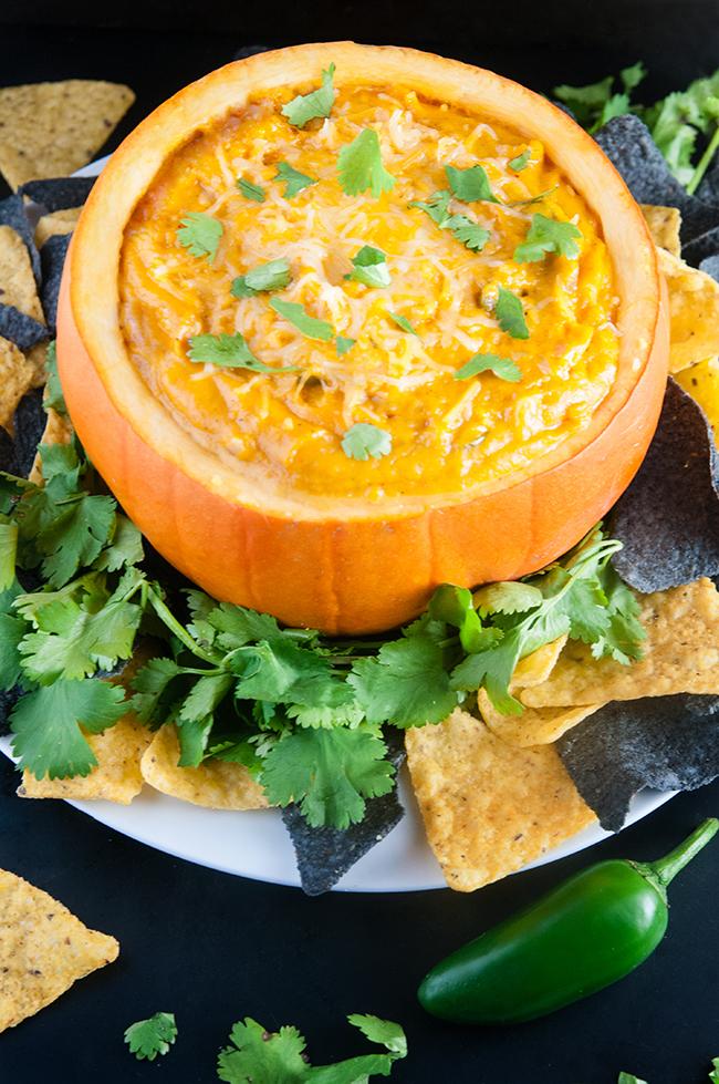 Chipotle Pumpkin Cheese Dip