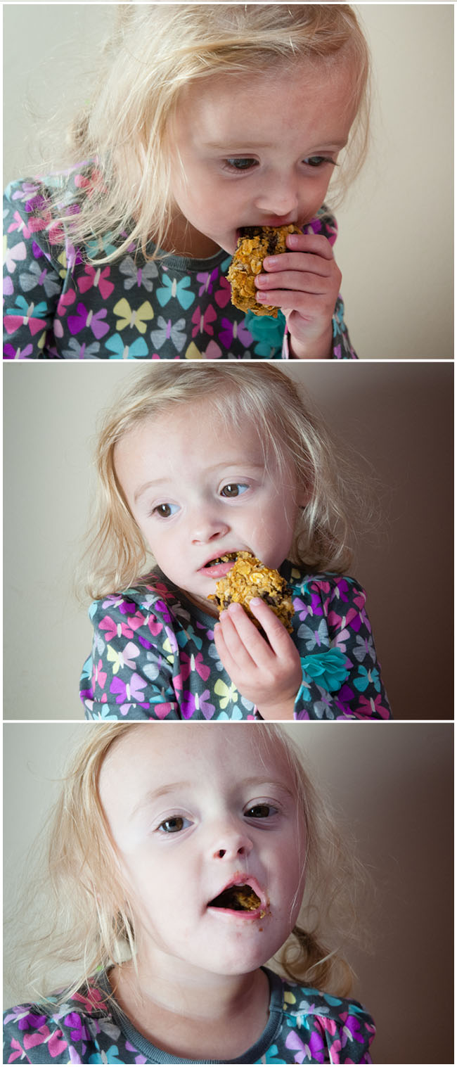 She loves these healthy pumpkin cookies