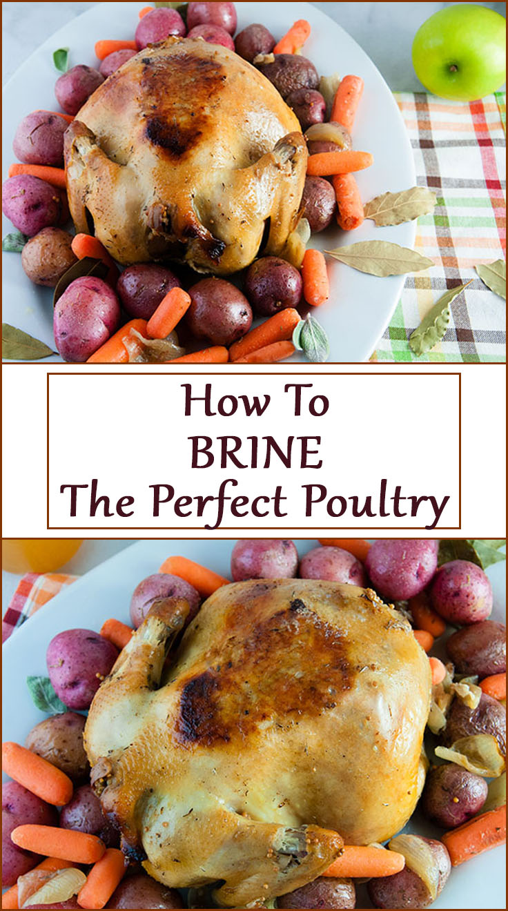 How to Brine the Perfect Bird. How to Brine Turkey. How to Brine Chicken. Follow this brining technique to make the perfectly brined, moist Thanksgiving Turkey.