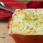Parmesan Garlic Twice Baked Potato Casserole