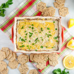 Cheesy Baked Crab Dip