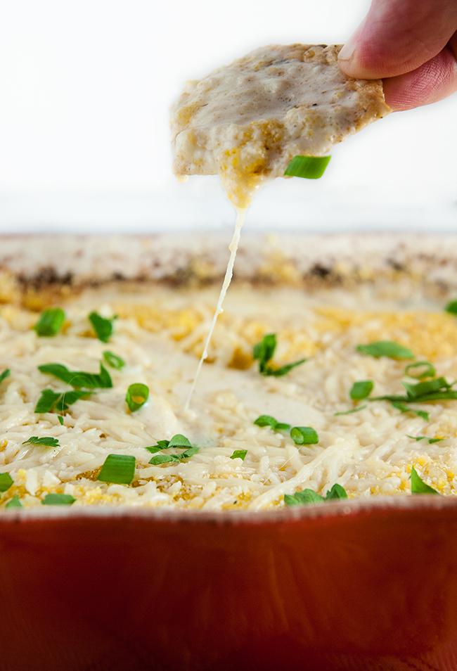 Cheesy Baked Crab Dip