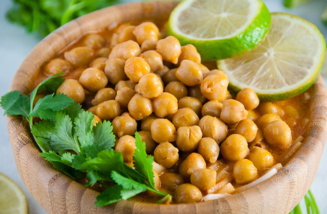 Easy Thai Chickpea Curry