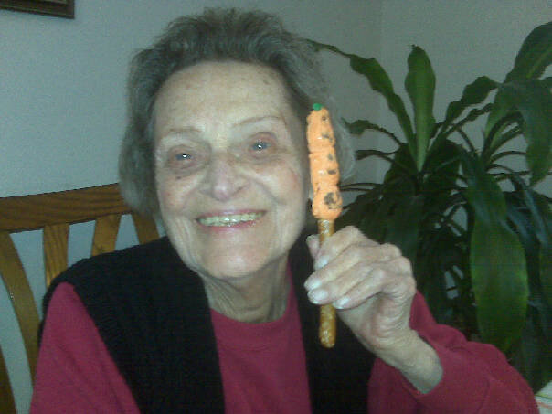 My awesome Nana, who inspired this soup