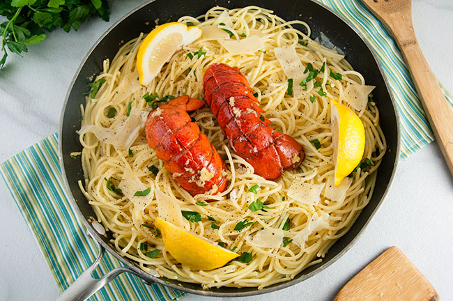 Brown Butter Lobster Pasta
