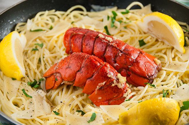 Brown Butter Lobster Pasta Seasoned Sprinkles