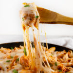 Cheesy Chicken Ziti Skillet
