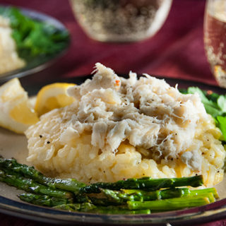 Crab Risotto with Asparagus-13