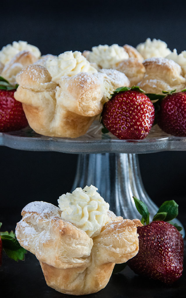 Puff Pastry Cheesecake Cups