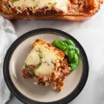 Gluten Free Lasagna