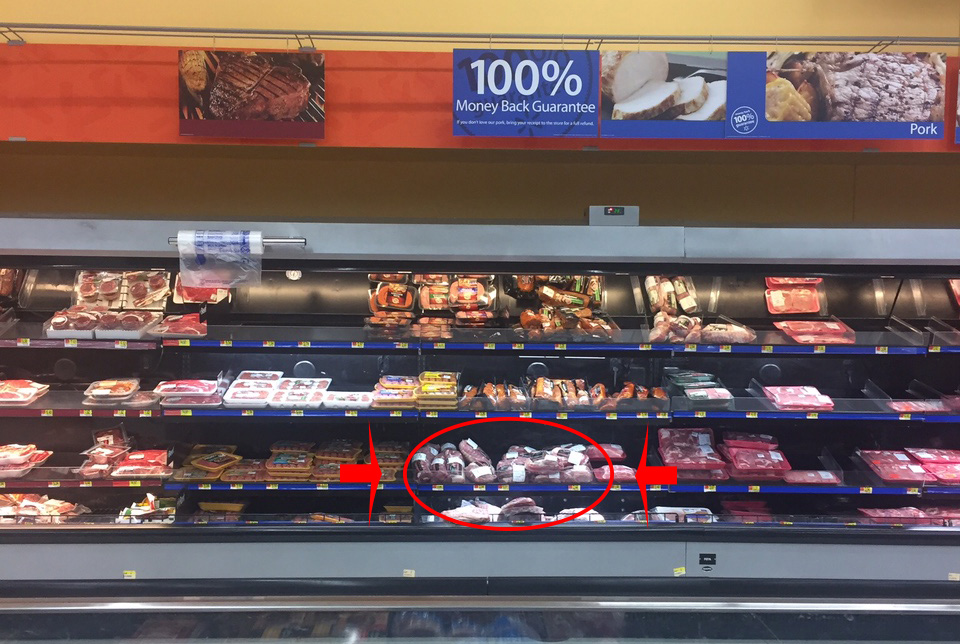 Find Smithfield Fresh Pork Ribs in the Pork Section of the Meat Case in Walmart