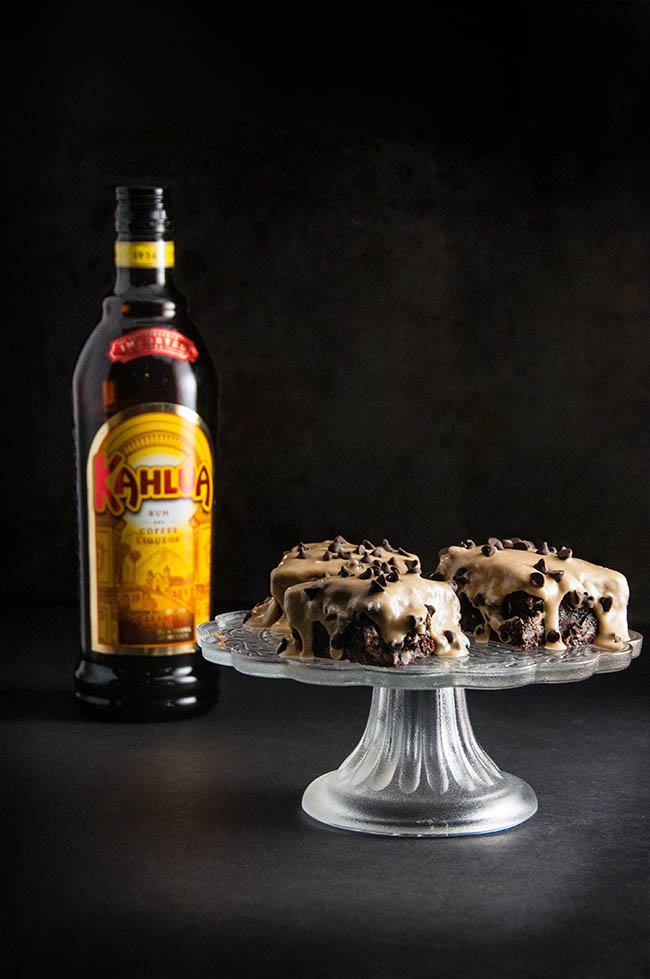 Chocolate Kahlua Cake Icing