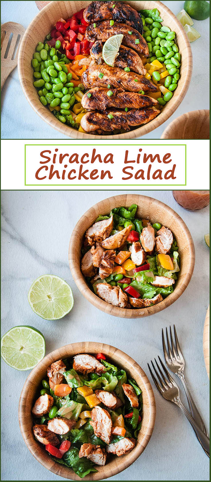Siracha Lime Chicken Salad
