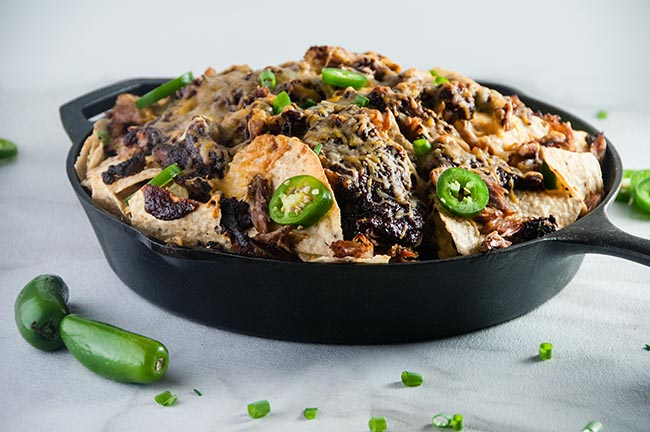 Barbecue Rib Nachos