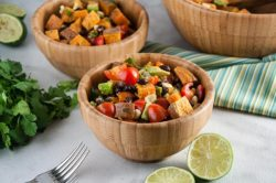 Healthy Roast Sweet Potato Salad
