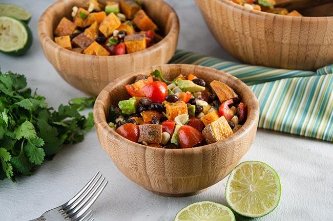 Healthy Roast Sweet Potato Salad