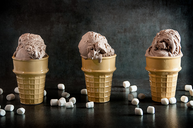 No Churn Hot Chocolate Ice Cream