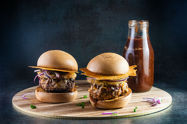 Pineapple Barbecue Burgers