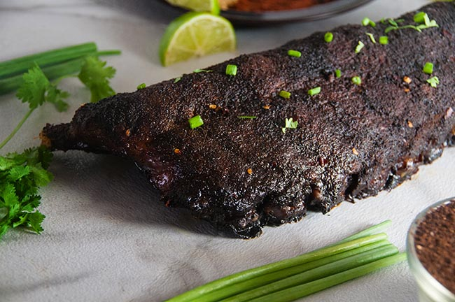 Coffee Rubbed Ribs