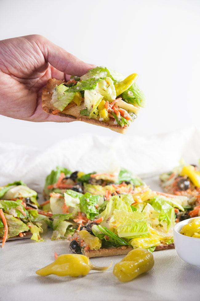 Italian Salad Flatbread