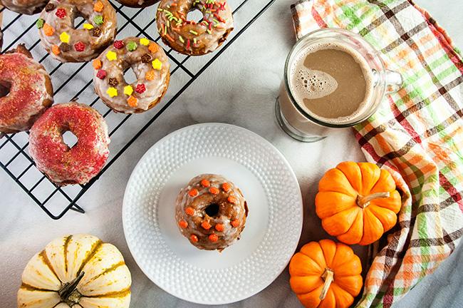 Easy Pumpkin Donuts