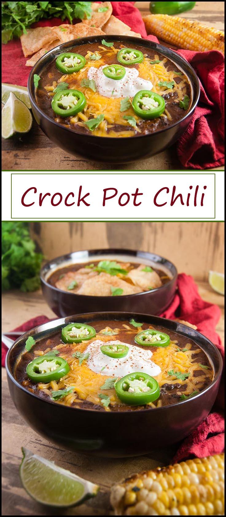 Easy Crock Pot Chili